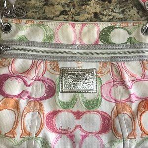 Coach Bags - Coach Scribble Messenger Bag